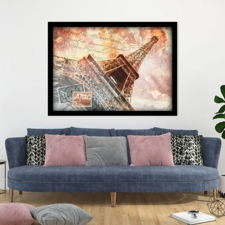 Αφηρημένη Ζωγραφιά Παρισιού