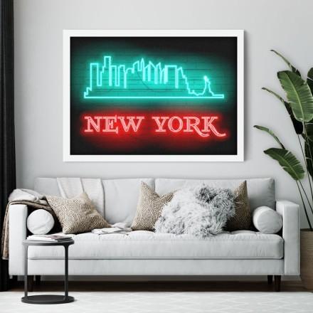 New York vector graphic
