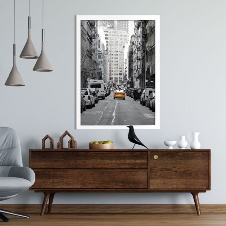 Ταξί στους δρόμους της Νέα Υόρκης