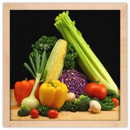 Φρέσκα πολύχρωμα λαχανικά