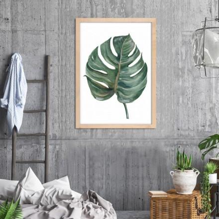 Πράσινο τροπικό φύλλο