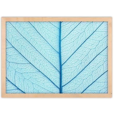 Γαλάζιο χρώμα φύλλου