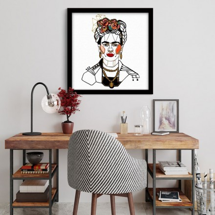 Frida Illustration