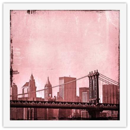 Ροζ ουρανός στην Νέα Υόρκη