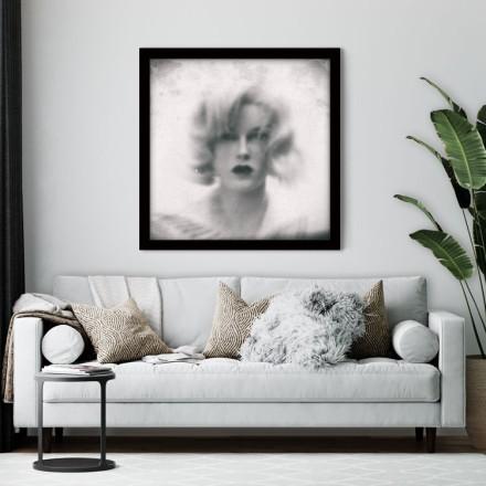 Θολό πορτρέτο γυναίκας