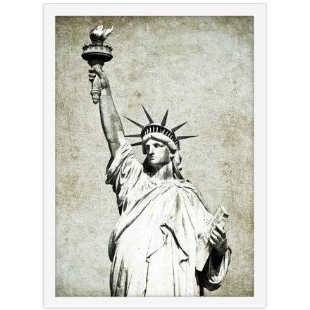 Ρετρό άγαλμα της Ελευθερίας