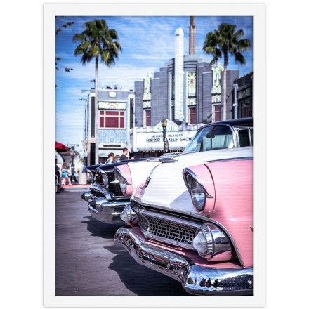 Ρετρό αμάξι στην Καλιφόρνια