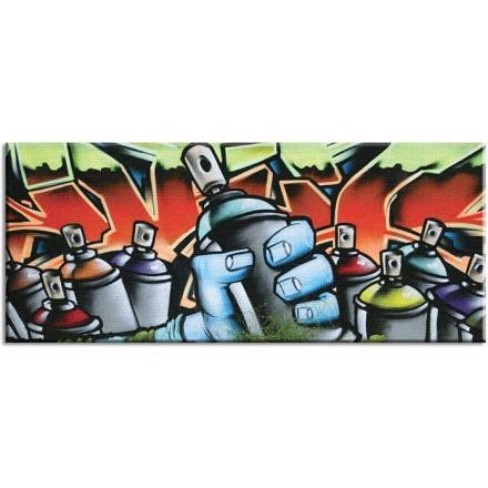 Graffiti πολύχρωμα spray