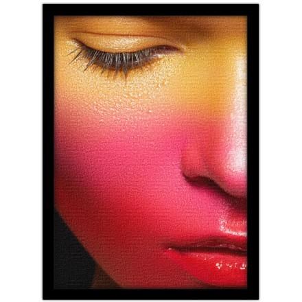Γυναικείο πρόσωπο ροζ