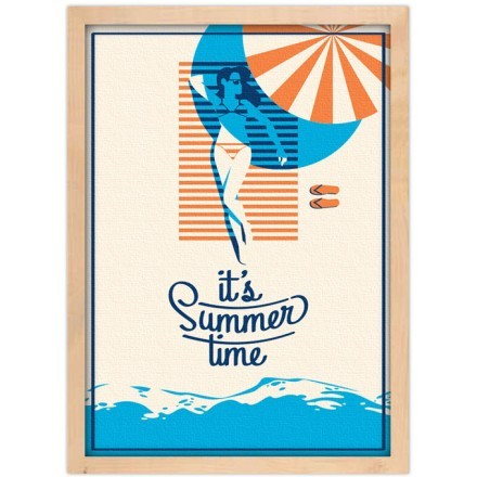 It is summer time
