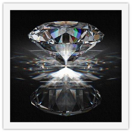 Διαμάντι σε αντανάκλαση