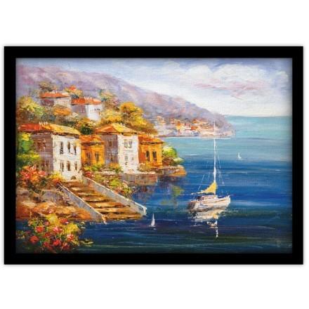 Ελαιογραφία, Θέα στο Λιμάνι