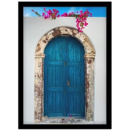 Γραφική Μπλέ Πόρτα, Σαντορίνη