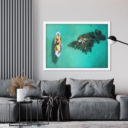 Τυρκουάζ παραλία Ψαρού - Μύκονος