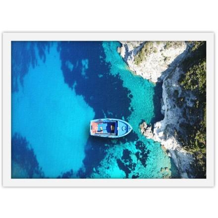 Γαλαζοπράσινη θάλασσα