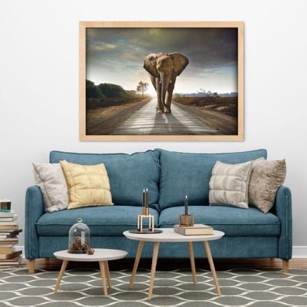 Ελέφαντας που περπατάει