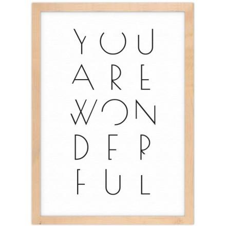 Είσαι υπέροχη!