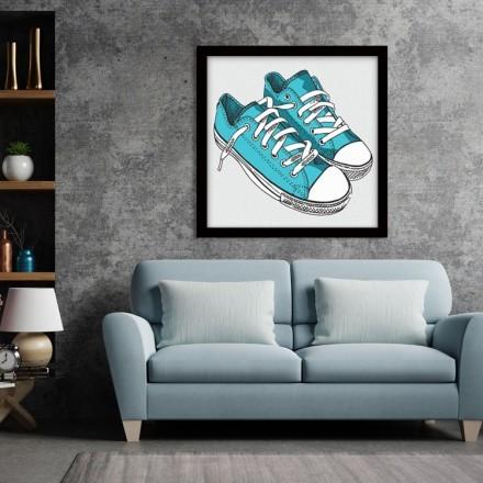 Γαλάζια Παπούτσια