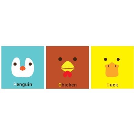 Penguin Chicken Duck