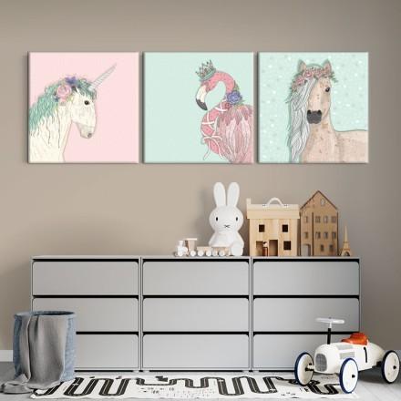 Άλογα και Φαμίνγκο