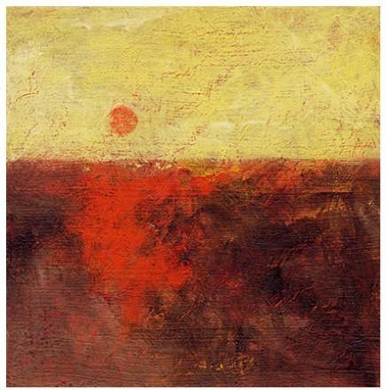 Ηλιοβασίλεμα Ελαιογραφία