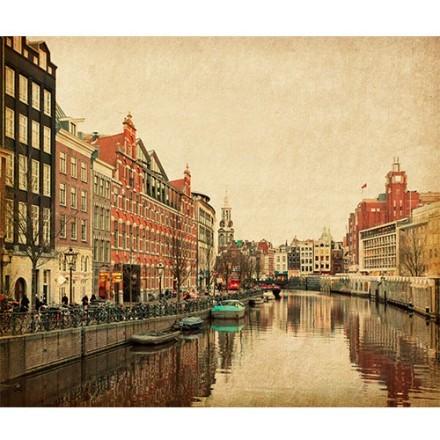 Κανάλι στο Άμστερνταμ