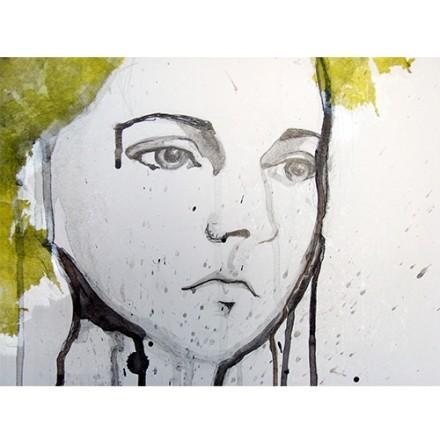 Νεαρή κοπέλα , πορτραίτο