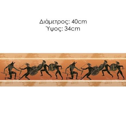 Κυνήγι Μινώταυρου, Αρχαίο Ελληνικό Στυλ