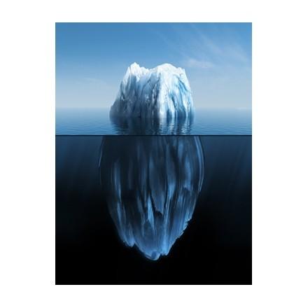 3D απεικόνιση ενός παγόβουνου