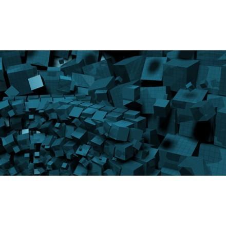 3d γεωμετρικοί κύβοι