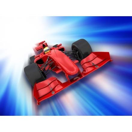 3D αυτοκίνητο της φόρμουλα 1