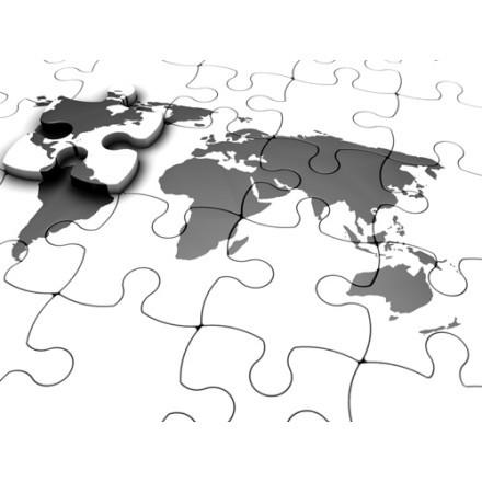 Παζλ παγκόσμιου χάρτη