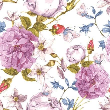 Μοτίβο με Λουλούδια