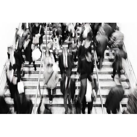 Άνθρωποι στο μετρό
