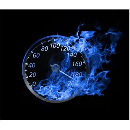 Ταχύμετρο στις φλόγες