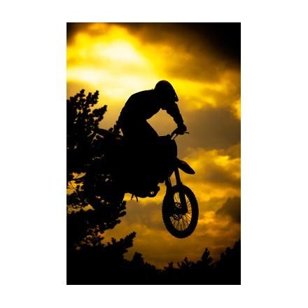 Αναβάτης motocross