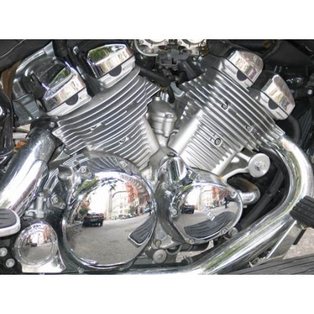 Ο κινητήρας μιας μοτοσικλέτας