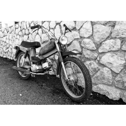 Κλασική παλιά μοτοσικλέτα