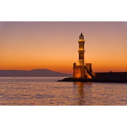 Ο Φάρος στο λιμάνι Χανίων, Κρήτη