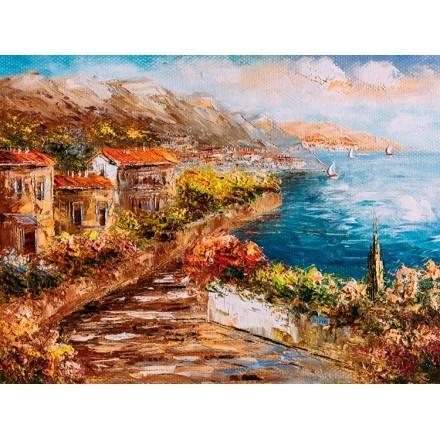 Ελαιογραφία, Γραφικό τοπίο στην Ελλάδα