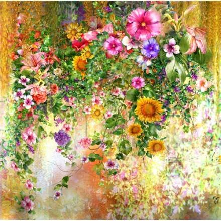 Ροζ- Φούξια Λουλούδια