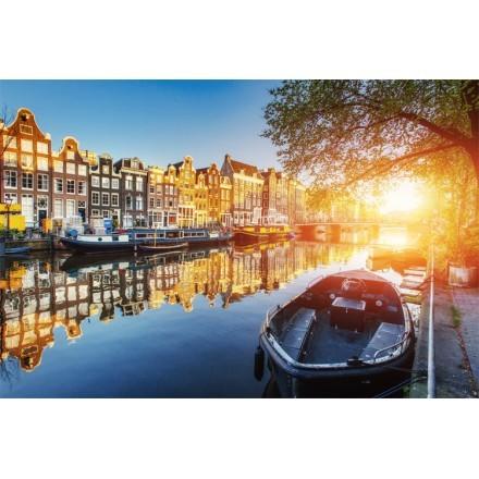 Κανάλια στο Άμστερνταμ