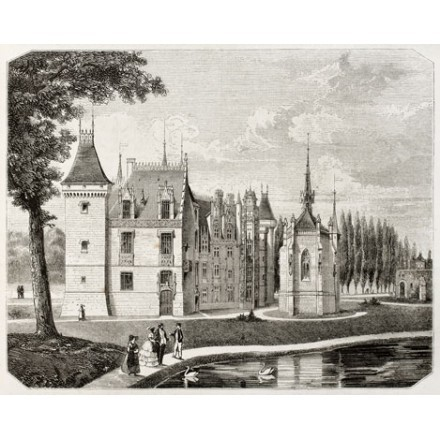 Κάστρο Meillant, Γαλλία