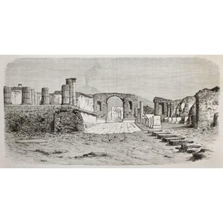 Πομπήια στην Ιταλία. 1864