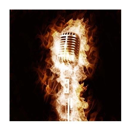 Φλεγόμενο μικρόφωνο