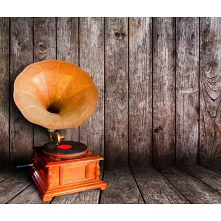Παλιό vintage γραμμόφωνο