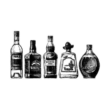 Mπουκάλια Aλκοόλ
