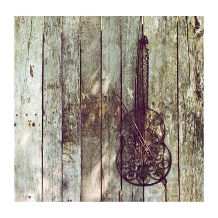 Παλιό σιδερένιο βιολί