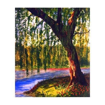 Δέντρο δίπλα στο ποτάμι