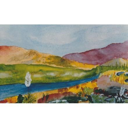 Ζωγραφιά με βουνά